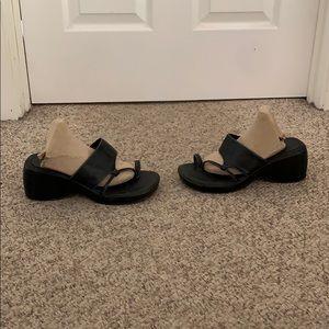 Vtg 90s No boundaries platform strappy sandals 7.5